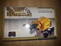 BNIB Build Your Own Robot Beetle remote control mechanical kit