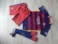 Football Kit Strip 12-13 years 158cm FCB
