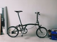Brompton Raw Lacquer London Design Festival Special Edition Minimalist Cycle