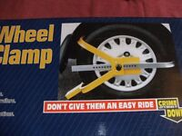 HIGH SECURITY WHEEL CLAMP (New & Boxed)