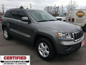 2012 Jeep Grand Cherokee Laredo **4X4, CRUISE, AUX. IN **