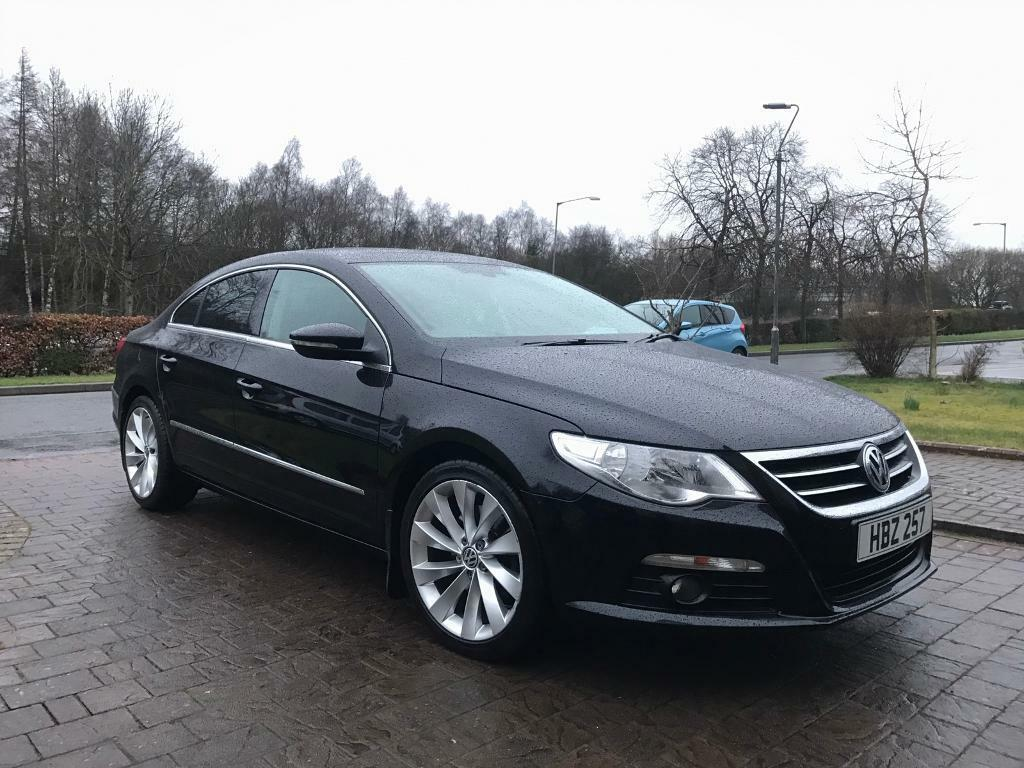 volkswagen passat cc gt black 2011 50k miles in east kilbride glasgow gumtree. Black Bedroom Furniture Sets. Home Design Ideas