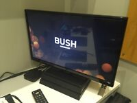 Bush LED TV/DVD Combo - Black
