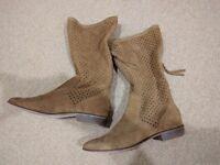 Zara Suede Boots - £20