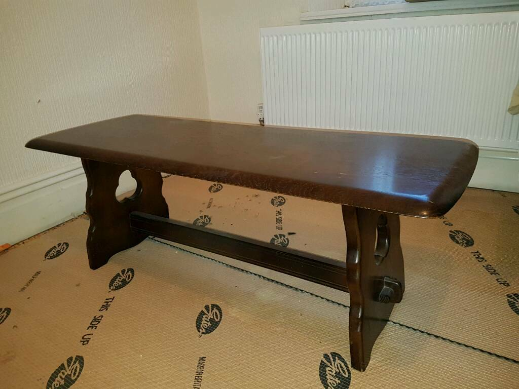 Priory style coffee table