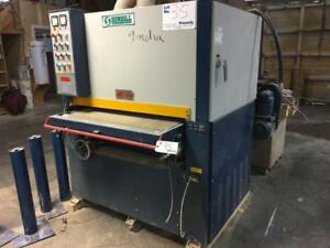 2000 SUNHILL 2 Head Belt Sander