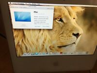 "Apple iMac 17"" MINT CONDITION Intel Core 2 Duo A1195 CD 2GB RAM 160HDD Memory Late 2006 model"