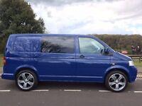 VW TRANSPORTER T5 1.9 104 PS, Conversion with alloys, Kombi rear seats, carpeting, tinted windows