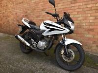 HONDA CBF 125 M-B WHITE 2012 CBF125