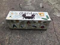 Free garden tool box