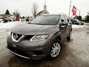 2014 Nissan Rogue S + CAMERA + SIEGES CHAUFFANTS + 24 598 KM!!!