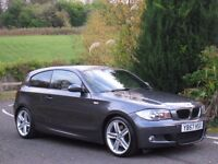 BMW 123d M SPORT 3dr 6-Spd MANUAL **LOW MILES - 204BHP - TWIN TURBO - IMMACULATE CAR - LOVELY SPEC**