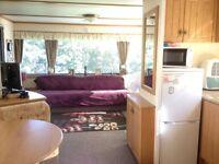 Cosalt Capri Super 35x12 3 Bedrooms static caravan for sale with large wooden decking