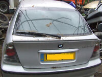 E46 COMPACT BMW REAR TAILGATE BOOT DOOR Breaking for parts