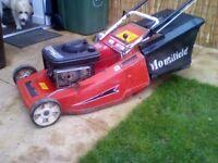Mountfield petrol self propelled mower