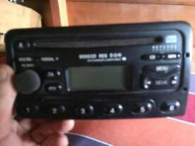 Ford connect cd player