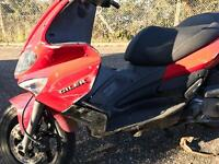 Gilera 125 recovered stolen bike 2009