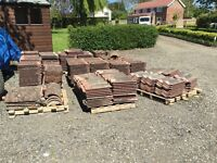 Used double pan sandtoft roof tiles