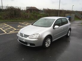 2008 - VW Golf Tdi Match - New MOT - New Clutch and cambelt just done - Complete history - nice car