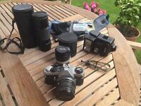Pentax ME Super Camera Kit for sale