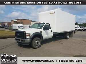 2009 Ford F-450 6.4L Diesel 16.5Ft Box + Ramp