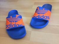 Adidas men's sliders size 10