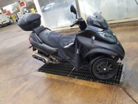 Piaggio MP3 LT 500 Sport Touring Model 2014 Matt Black FOR SALE