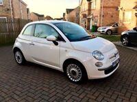 2014 FIAT 500 1.2 LOUNGE, 1 OWNER, FULL DEALER HISTORY, £20 TAX