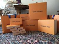 Louis vuitton boxes cheap