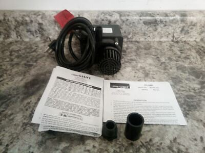Little Giant Pe-2.5f 128 Hp 115v 13.4 Ft Max Head Compact Submersible Pump