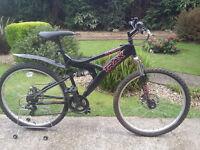 Mens trax tfs1 10 mountain bike