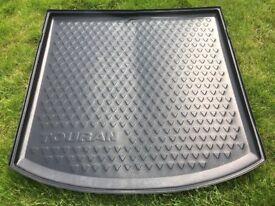 Vw Volkswagen Touran Boot Liner Protector 2011 -