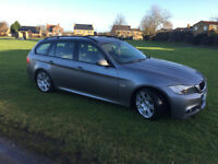 2009 bmw 3 series 2.0 m sport touring lci facelift long m-o-t,65mpg,stop,stratL@@K £3695 ovno