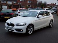BMW 1 SERIES 1.5 116D SE BUSINESS 5dr * Sat Nav * *Only 10000 m (white) 2016