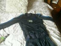 New nike tracksuit small mens/large boys