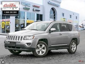 2016 Jeep Compass HIGH ALTITUDE *LEATHER, 4X4, SUNROOF, NAV*