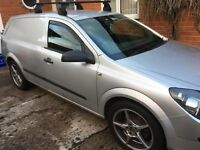 Astra van 10 months MOT wolf race alloys with nearly new tyres tow bar roof bars nice clean van