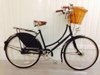 Urban Dutch Commuting Hub gears/Breaks Leather Saddle MINT
