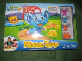 Hasbro Mousetrap Elefun and Friends Board Game - The trap-launching mouse-catching game!