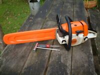 2010 STIHL MS240 PROFESSIONAL PETROL CHAINSAW - EXCELLENT CONDITION