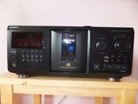 sony multi cd player 300 disk