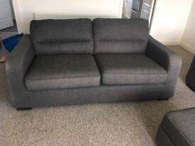 Dark Grey 3 Piece Sofa £250 ono