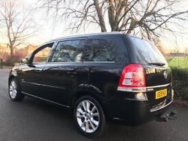 Vauxhall Zafira Design CDTI 150 bhp + 2008 + 7 seaer + MPV + 90K + LEATHER + Diesel + testedb08ngx