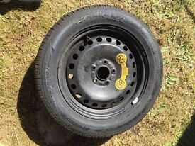 Full size spare wheel Good Year Tyre 215/55/16