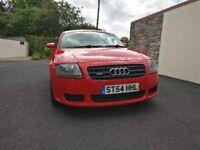 Audi TT 2004 Red Quattro DSG 3.2 V6 3dr S-Line