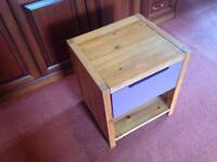 Child bedside cabinet