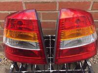 Vauxhall Astra MK4 1998 - 2005 Rear Lights Pair