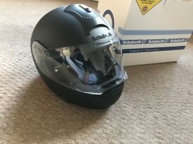 Brand new Schuberth motorcycle helmet in size Large 58/59. (Cost £300)