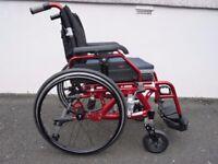 Enigma K Suspension Lightweight Manual Wheelchair