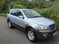 DIESEL 4x4 Kia Sorento , 2005 , 67,000 MLS , new mot 1 owner